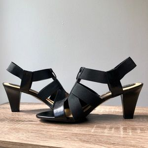 Naturalizer N5 Comfort Yazmin Black Heels 9M